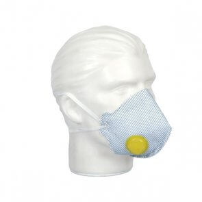 Respirador Mask Face PFF2 VO Valvulado Air Safety (511.001.043)
